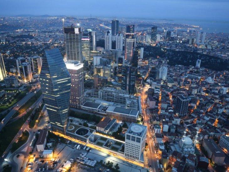 इस्तांबुल में वाणिज्यिक निवेश जिले