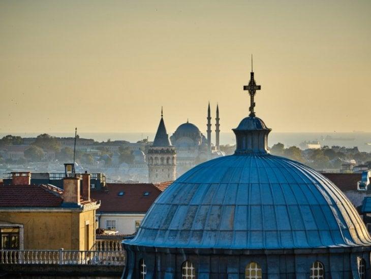 伊斯坦布尔的历史教堂