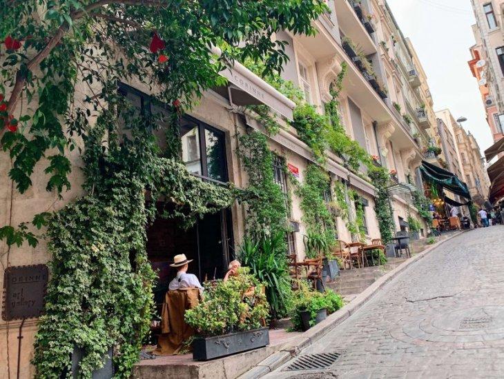 Beyoglu建筑超过100年