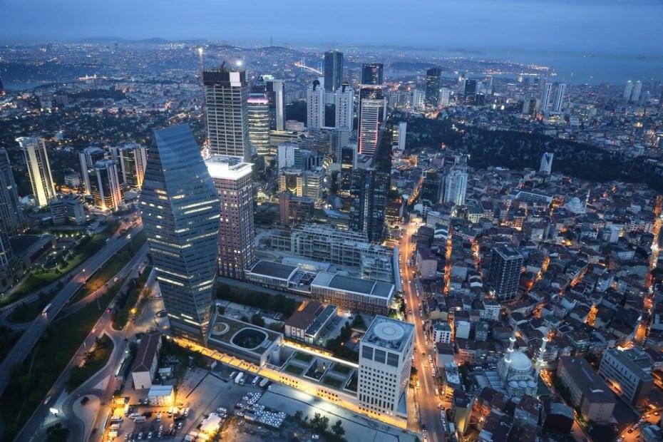 استنبول میں تجارتی سرمایہ کاری والے اضلاع