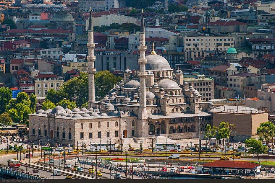 Наиболее посещаемые города Стамбула