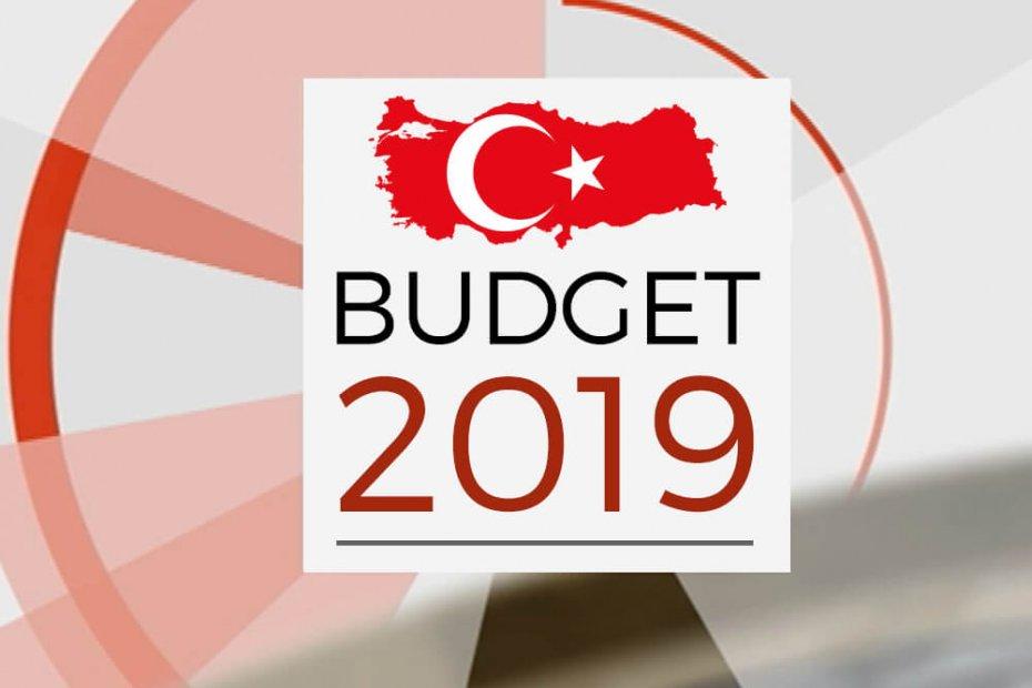 ميزانية تركيا لعام 2019