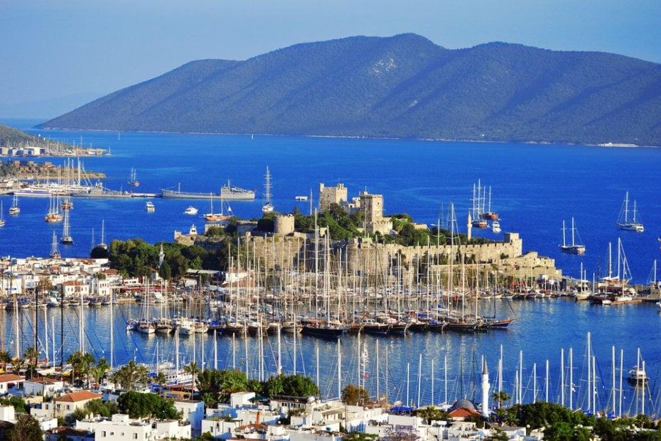 Les célèbres côtes turquoises de Turquie