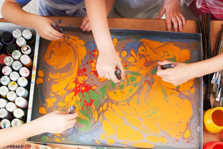 Turkish Handicrafts and Art Language of Istanbul: Marbling Art (Ebru)