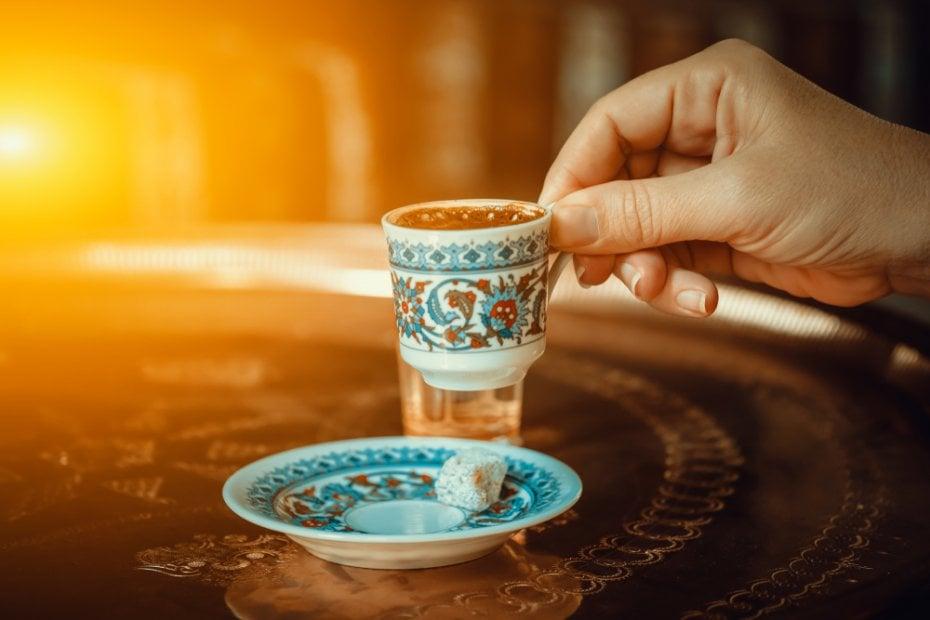 Siglos de placer: el café Turco